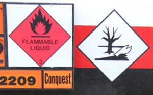 Hazardous goods 250x400